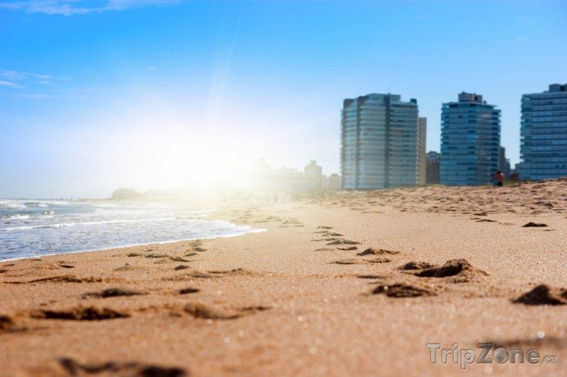 Fotka, Foto Pláž v Montevideu (Uruguay)