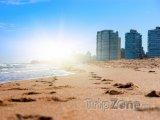 Pláž v Montevideu