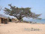 Pobřeží jezera Malawi