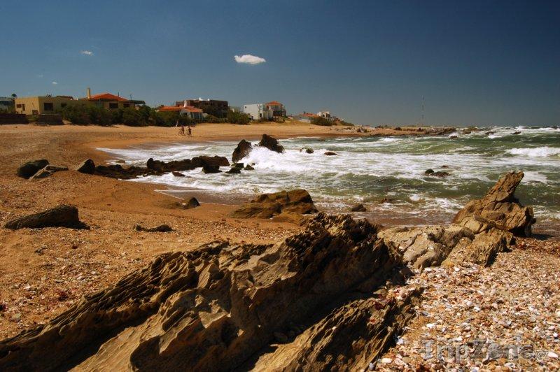 Fotka, Foto Pobřeží města La Paloma (Uruguay)