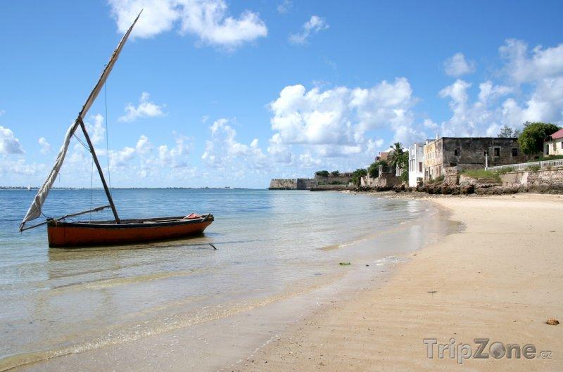 Fotka, Foto Pobřeží Mosambického ostrova (Mosambik)
