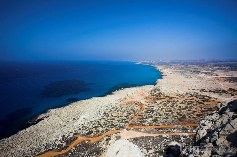 Fotka, Foto Pobřeží mysu Cape Greco (Kypr)