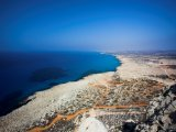 Pobřeží mysu Cape Greco