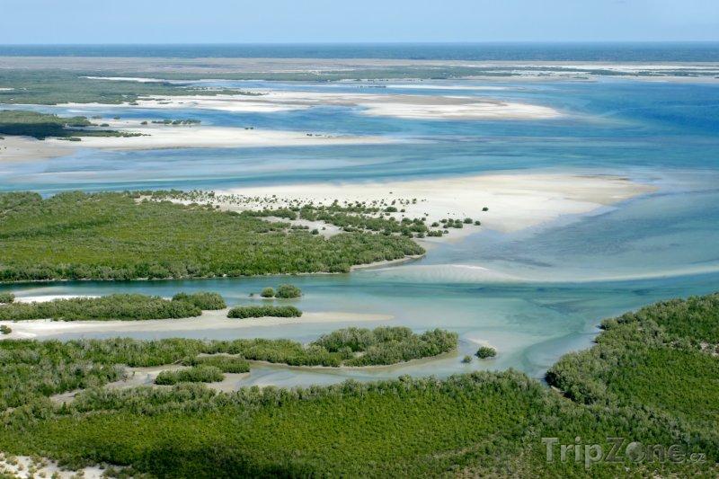 Fotka, Foto Pobřeží na jihu Mosambiku (Mosambik)