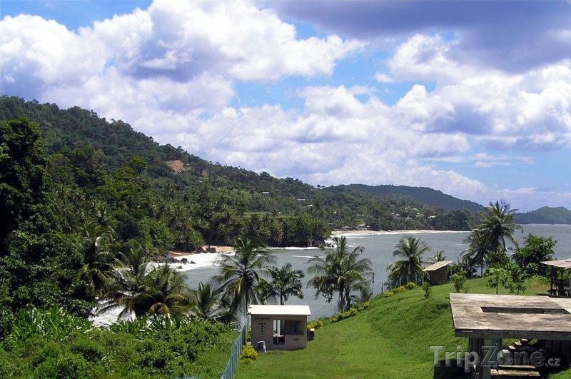 Fotka, Foto Pobřeží na severu Trinidadu (Trinidad a Tobago)