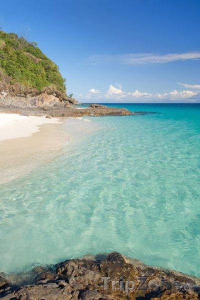 Fotka, Foto Pobřeží ostrova Tsarabanjina (Madagaskar)