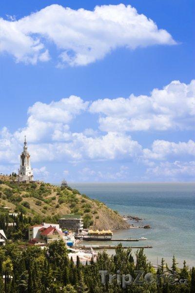 Fotka, Foto Pobřeží poloostrova Krym (Ukrajina)