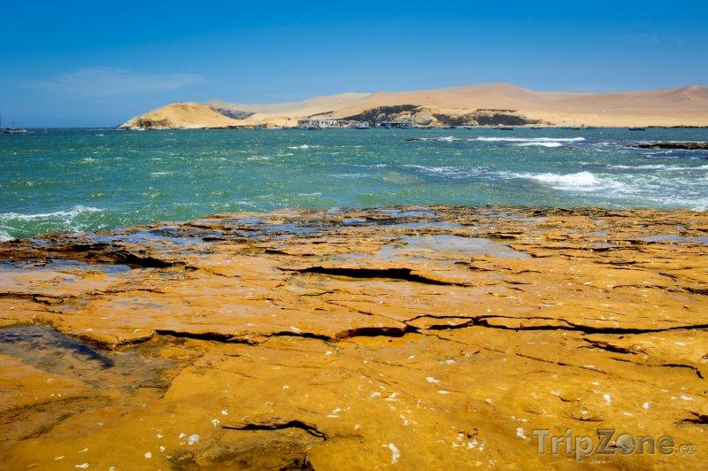 Fotka, Foto Pobřeží poloostrova Paracas (Peru)