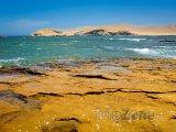 Pobřeží poloostrova Paracas