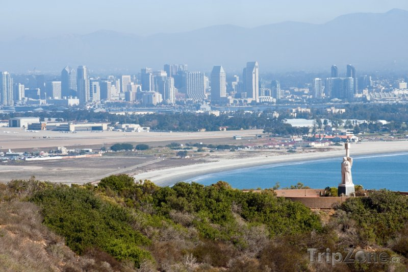 Fotka, Foto Pohled na město San Diego (USA)