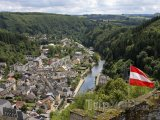 Pohled na město Vianden