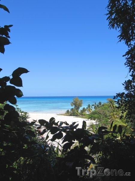 Fotka, Foto Pohled na pláž ostrova Nosy Be (Madagaskar)