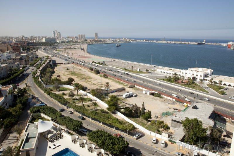 Fotka, Foto Pohled na přístav v Tripolisu (Libye)