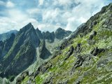 Pohled na Vysoké Tatry