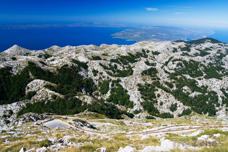 Fotka, Foto Pohoří Biokovo (Makarská riviéra, Chorvatsko)