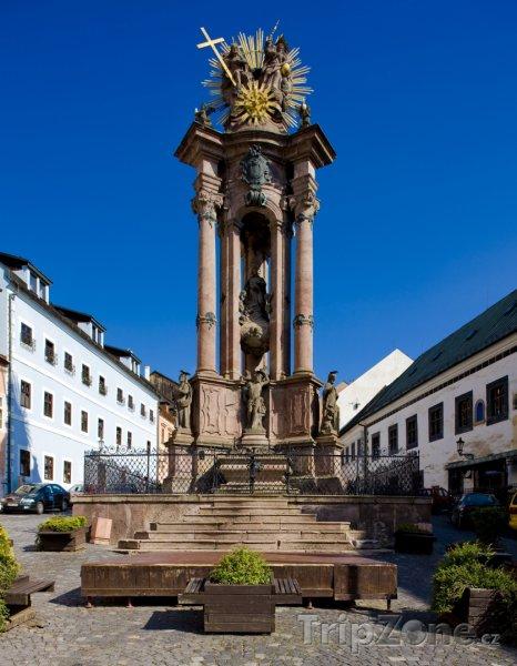 Fotka, Foto Pomník Svaté Trojice v Banské Štiavnici (Slovensko)