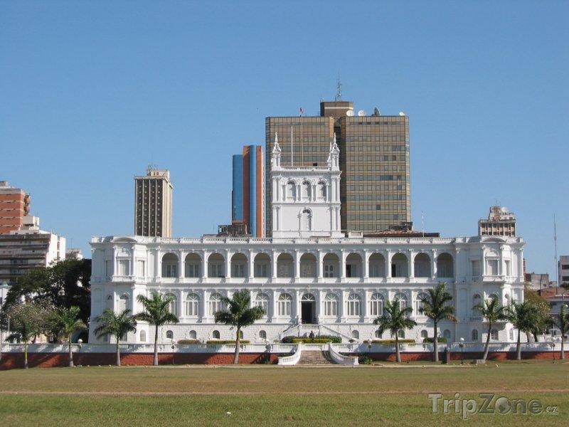 Fotka, Foto Prezidentský palác v Asunciónu (Paraguay)