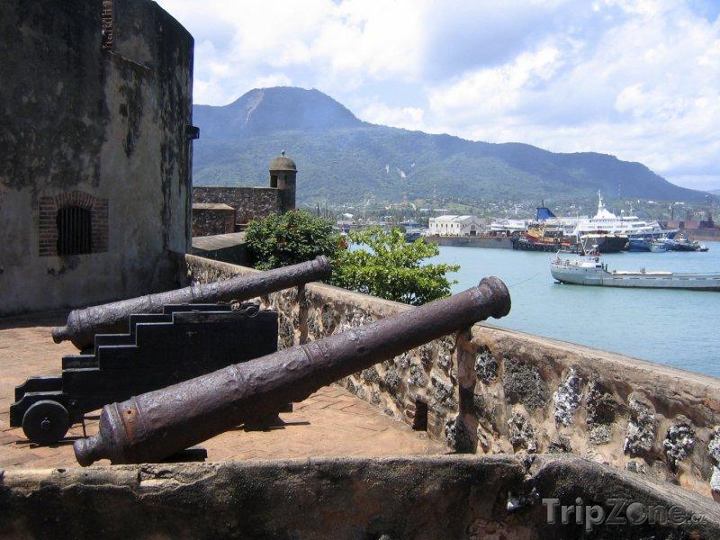 Fotka, Foto Puerto Plata, Castillo de San Felipe (Dominikánská republika)