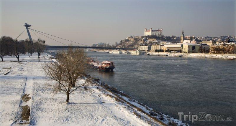 Fotka, Foto Řeka Dunaj v Bratislavě (Slovensko)