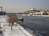 Řeka Dunaj v Bratislavě