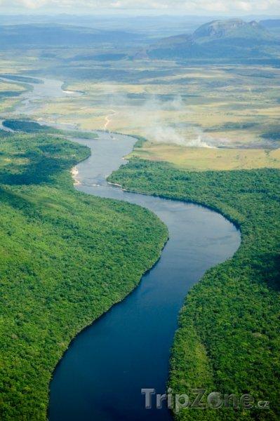 Fotka, foto řeka orinoko (venezuela)