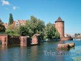 Řeka Visla v Gdaňsku