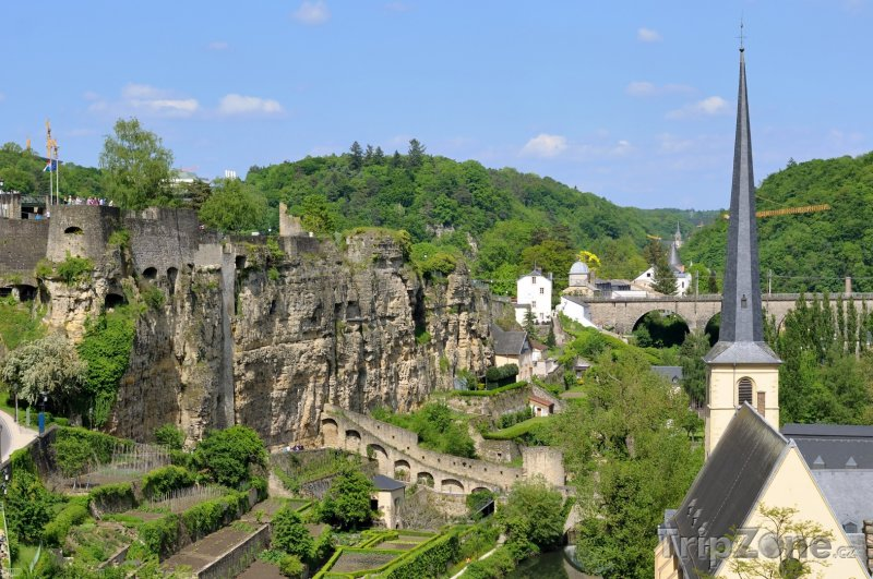 Fotka, Foto Římské ruiny (Lucemburk, Lucembursko)