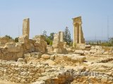 Ruiny antického chrámu boha Apollona u Limassolu