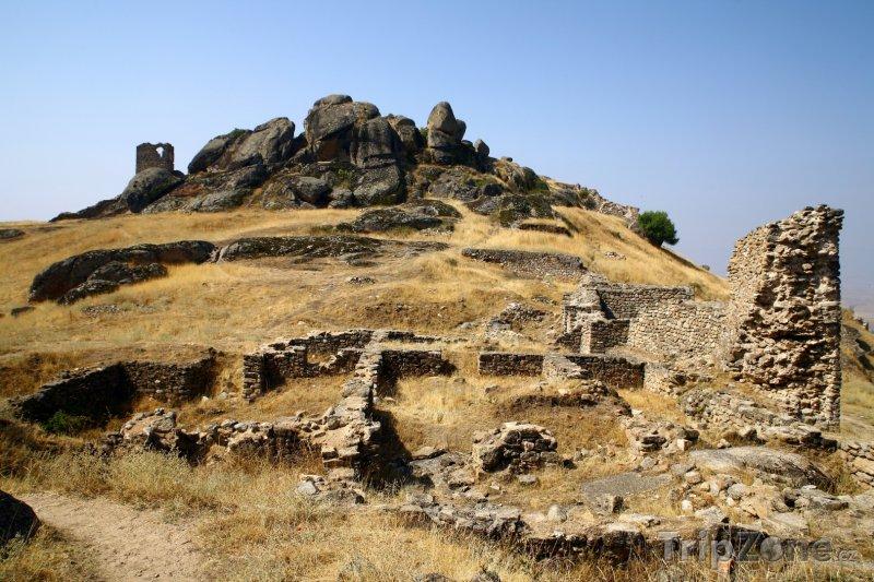 Fotka, Foto Ruiny pevnosti Kralevice Marka (Makedonie)