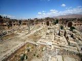 Ruiny v městečku Baalbek