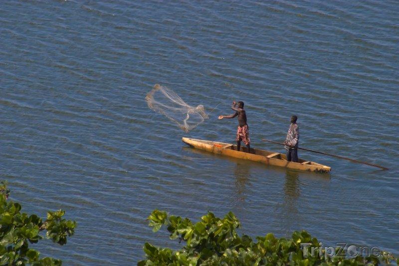 Fotka, Foto Rybáři v akci (Nigérie)