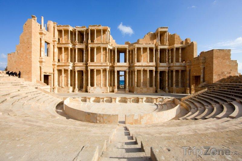 Fotka, Foto Sabratha, divadlo (Libye)
