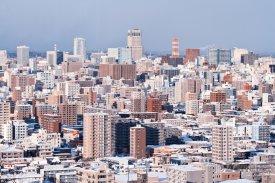 Sapporo, panorama města