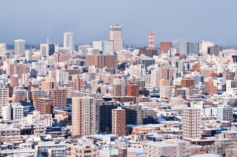 Fotka, Foto Sapporo, panorama města (Japonsko)