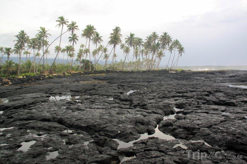 Fotka, Foto Savaii, lávové pole (Samoa)