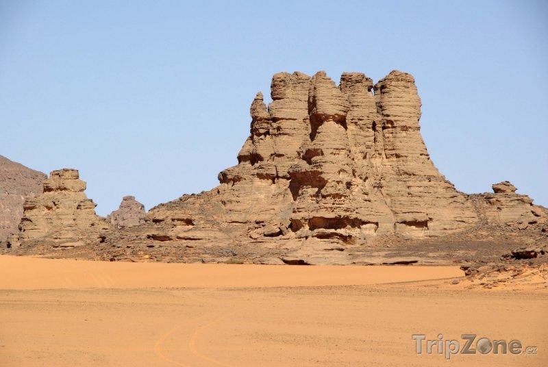 Fotka, Foto Skály v libyjské poušti (Libye)
