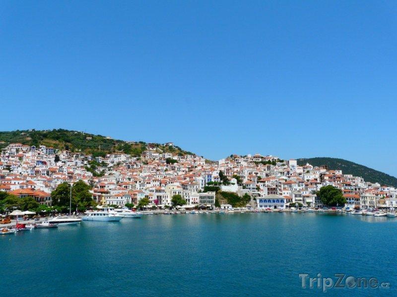 Fotka, Foto Skopelos, městečko Glossa (Řecko)
