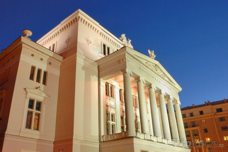 Fotka, Foto Státní opera (Riga, Lotyšsko)