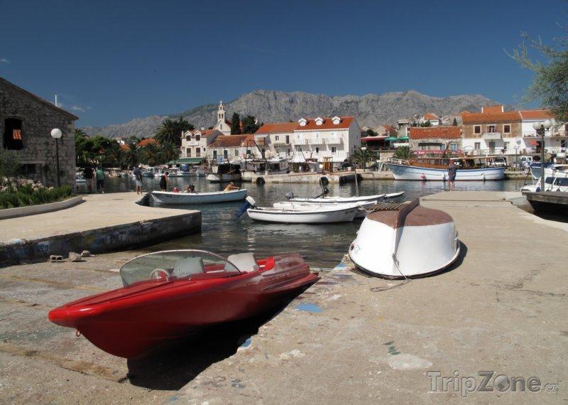 Fotka, Foto Sućuraj, přístav (Makarská riviéra, Chorvatsko)