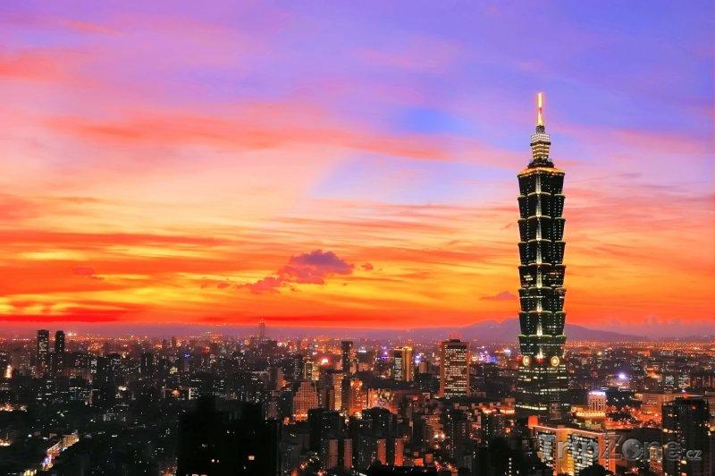 Fotka, Foto Tchaj-pej 101 v noci (Tchaj-wan)