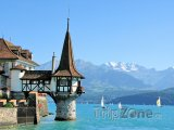 Thunské jezero, hrad Oberhofen