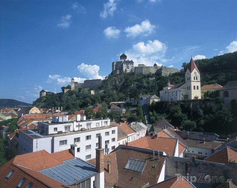 Fotka, Foto Trenčín panorama (Slovensko)
