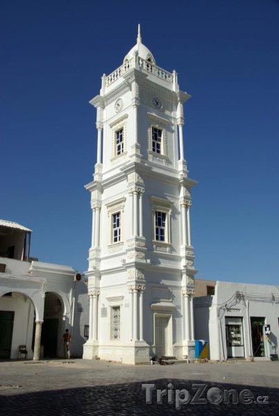 Fotka, Foto Tripolis, Osmanská hodinová věž (Libye)