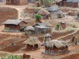 Typická malawijská vesnice