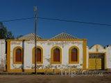 Typický dům v Mosambiku