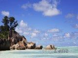 Úchvatná pláž Anse Source d'Argent na ostrově La Digue