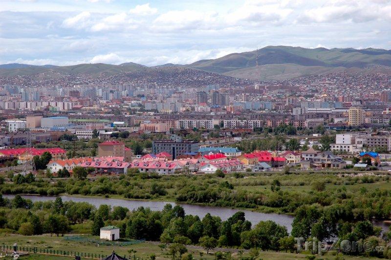 Fotka, Foto Ulánbátar panorama (Mongolsko)