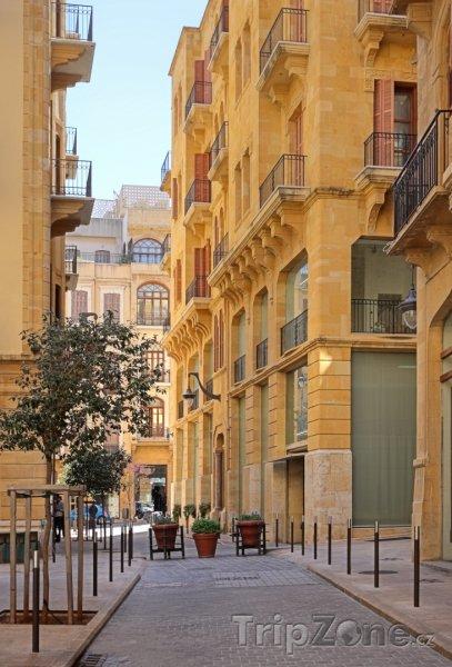 Fotka, Foto Ulice v centru města (Bejrút, Libanon)