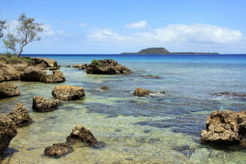 Fotka, Foto Útesy u ostrova Efate (Vanuatu)