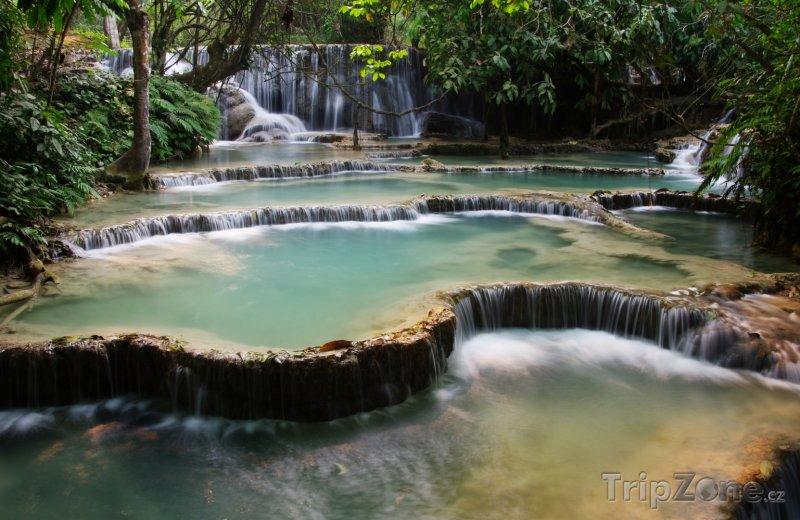 Fotka, Foto Vodopády Kuang Si (Laos)